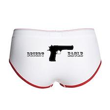 Desert Eagle Boy Shorts (Black-Red)