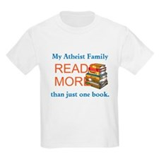 An Atheist Family Reads More T-Shirt