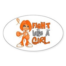 Fight Like a Girl 42.8 MS Decal