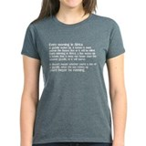 Cross country running Tee