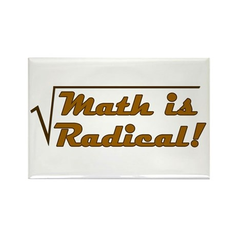 Math is Radical! Rectangle Magnet (10 pack)