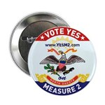 2.25&quot; ND Flag Button (10 pack)