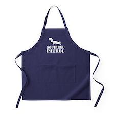 Squirrel Patrol Apron (dark)