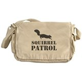 Squirrel Patrol Messenger Bag