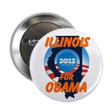"Illinois for Obama 2.25"" Button"