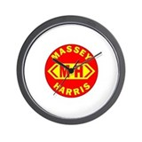 """MASSEY HARRIS"" Wall Clock"