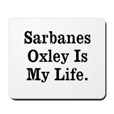 Sarbanes Oxley Mousemat