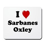 Sarbanes Oxley Mousepad