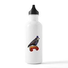 Well Dressed Raven Water Bottle