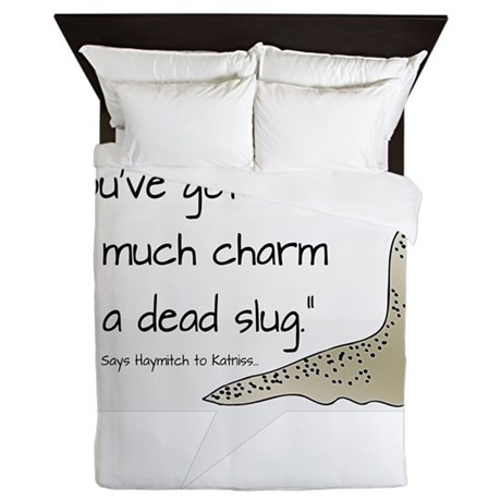 Dead Slug Queen Duvet