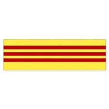 Flag of Free Vietnam Bumper Bumper Sticker