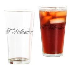 El Salvador Drinking Glass
