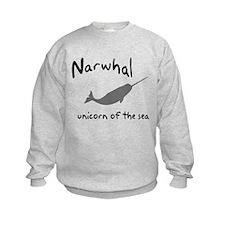 Narwhal Unicorn of the Sea Sweatshirt