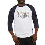 MUST LOVE Puggles Baseball Jersey