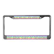 """""""Oklahoma"""" License Plate Frame"""