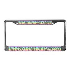 """""""Tennessee"""" License Plate Frame"""