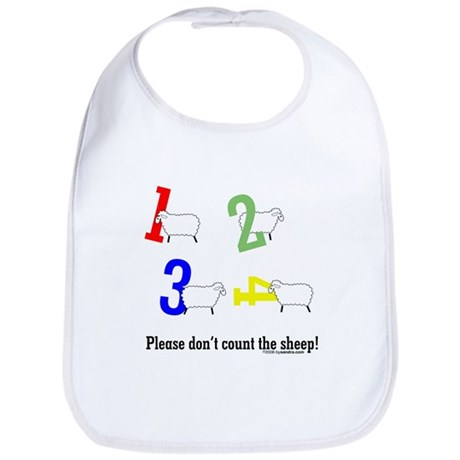Don't count sheep Bib