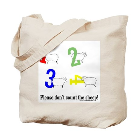 Don't count sheep Tote Bag