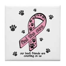 Foster adoption awareness Tile Coaster