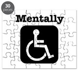 Mentally Disabled. Puzzle