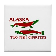 Akcharters adult Tile Coaster