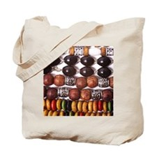 Bold Beads Tote Bag