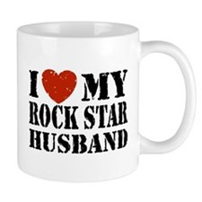 Rock Star Husband Mug