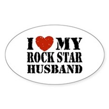 Rock Star Husband Decal