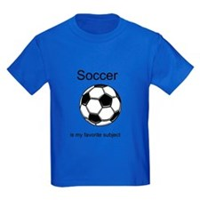 Cute Girl's soccer T