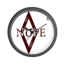 Omega Nupe Diamond with COA.jpg Wall Clock