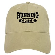 Running Chick Baseball Cap