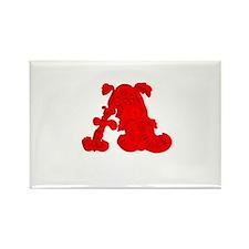 Scarlet Letter Rectangle Magnet (100 pack)