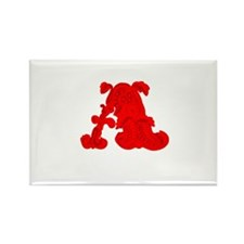 Scarlet Letter Rectangle Magnet