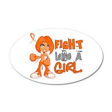 Fight Like a Girl 42.8 RSD 22x14 Oval Wall Peel