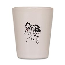 Alaskan Malamute Weight Pull Shot Glass