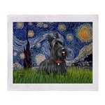 StarryNight-Scotty#1 Throw Blanket