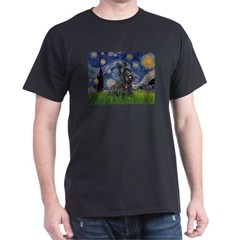 StarryNight-Scotty#1 Dark T-Shirt