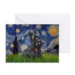 StarryNight-Scotty#1 Greeting Cards (Pk of 10)