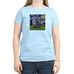 StarryNight-Scotty#1 Women's Light T-Shirt