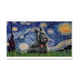 StarryNight-Scotty#1 Car Magnet 20 x 12