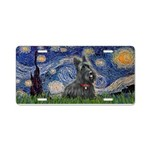 StarryNight-Scotty#1 Aluminum License Plate