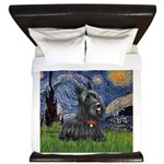 StarryNight-Scotty#1 King Duvet