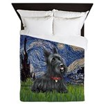 StarryNight-Scotty#1 Queen Duvet