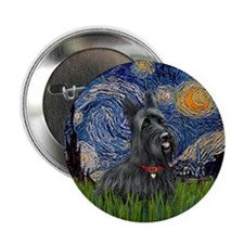 "StarryNight-Scotty#1 2.25"" Button (100 pack)"