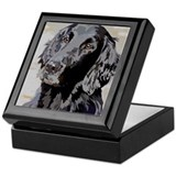 Flat Coated Retriever Keepsake Box