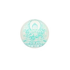 Gautama Buddha Mini Button (10 pack)