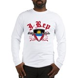 I Rep Antigua And Barbuda Long Sleeve T-Shirt