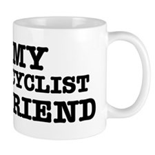I love My Cyclist Boyfriend Mug