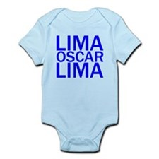 LOL-Blue Infant Bodysuit