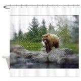 Grizzly Shower Curtain